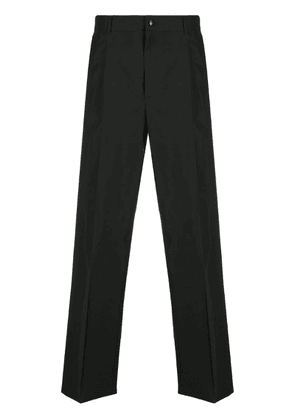Valentino VLTN logo wide-leg trousers - Black