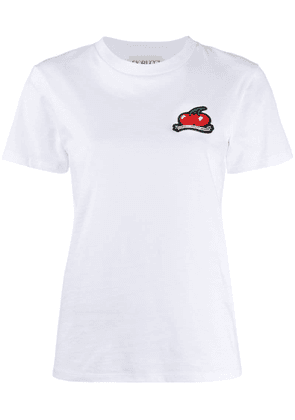 Fiorucci cherries patch T-shirt - White