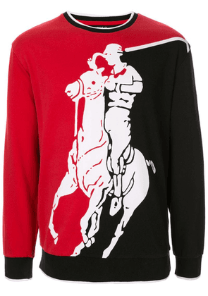 Ralph Lauren P-Wing Big Pony print sweatshirt - Multicolour