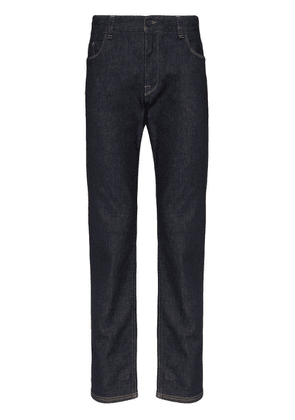 Fendi logo-pocket slim jeans - Blue