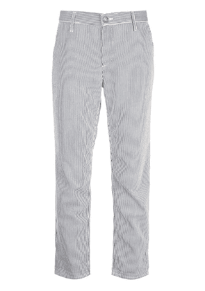 Ag Jeans striped chino trousers - Black