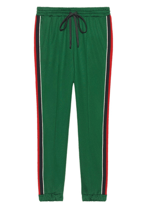 Gucci Technical jersey jogging trousers - Green