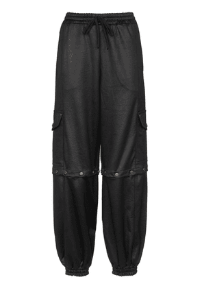 Gucci technical track trousers - Black