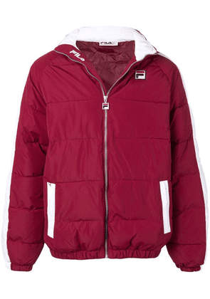 Fila Ledger Archive puffer jacket - Red