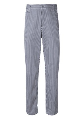 A.P.C. striped straight jeans - Blue