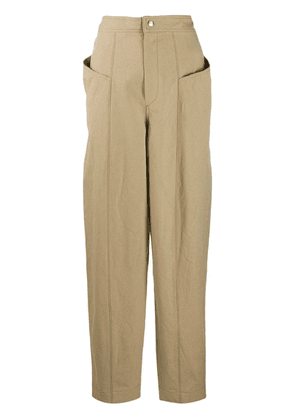 Isabel Marant high-waisted trousers - Neutrals