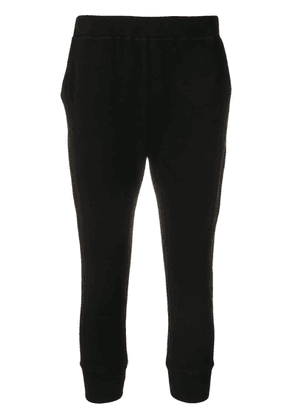 Dsquared2 cropped track trousers - Black