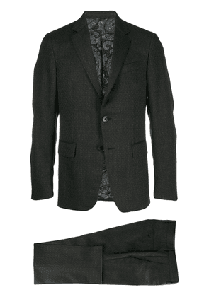 Etro two piece suit - Black