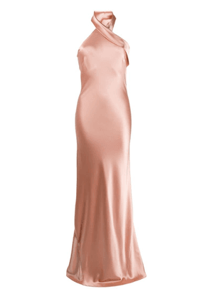 Galvan Pandora dress - Gold