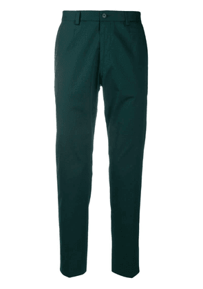 Dolce & Gabbana slim-fit trousers - Green