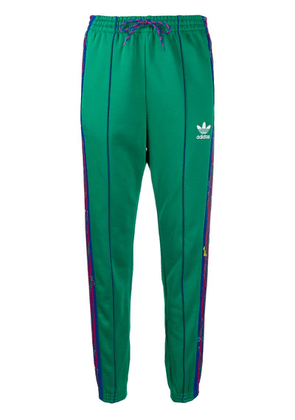 Adidas floral track pants - Green