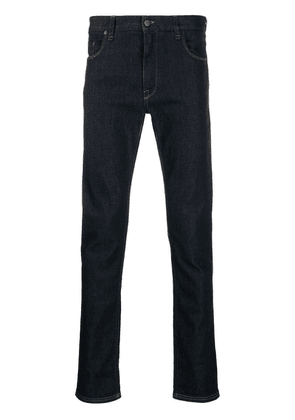 Fendi ff-pocket skinny jeans - Blue