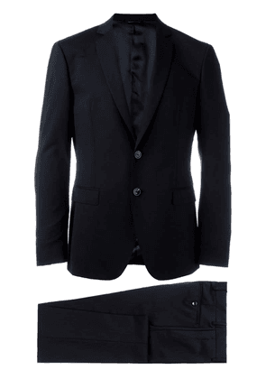 Tonello notched lapel suit - Black