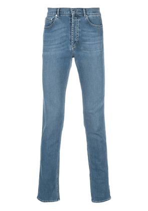 Givenchy side panel straight leg jeans - Blue