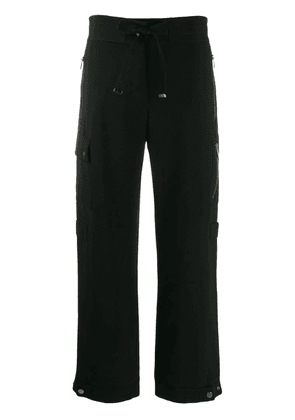 Moncler straight cargo trousers - Black