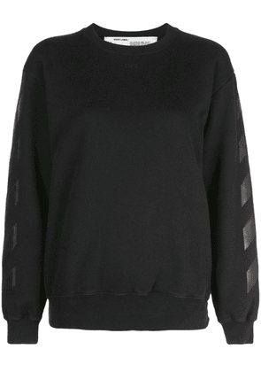 Off-White Diagonal sweatshirt - Black