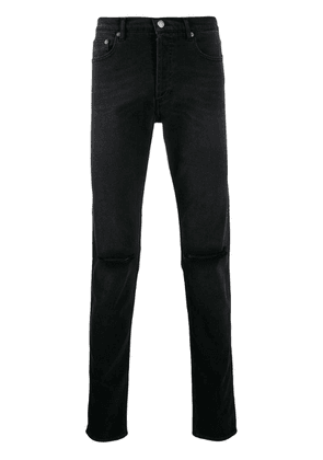 Givenchy distressed finish jeans - Black