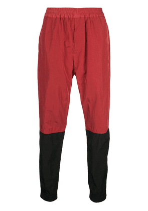 Givenchy two tone track pants - Red