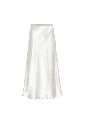Leisure ِAlessio satin midi skirt