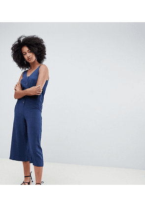New Look Button Through Romper Jumpsuit