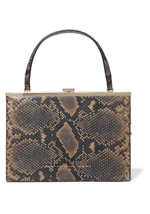 Chylak - Snake-effect Leather Tote - Snake print