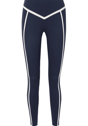 Ernest Leoty - Corset Paneled Stretch Leggings - Navy