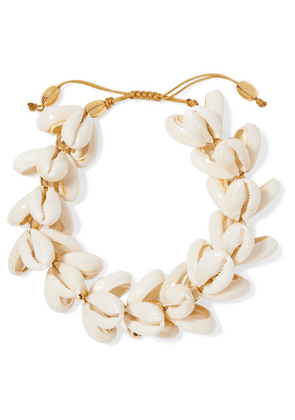 Tohum - Gold-plated Shell Bracelet - one size
