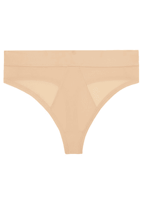 The Great Eros - Lugano Stretch-jersey Thong - Neutral
