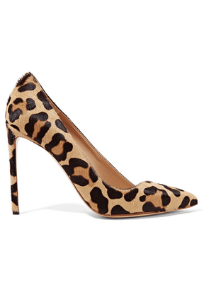 Francesco Russo - Leopard-print Calf Hair Pumps - Leopard print
