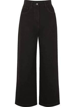 Nanushka - Marfa High-rise Straight-leg Jeans - Black