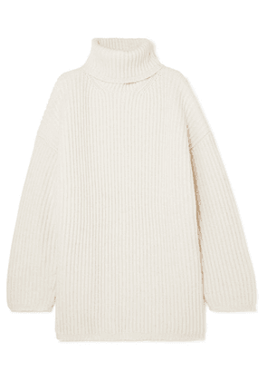 Acne Studios - Disa Oversized Wool Turtleneck Sweater - Off-white