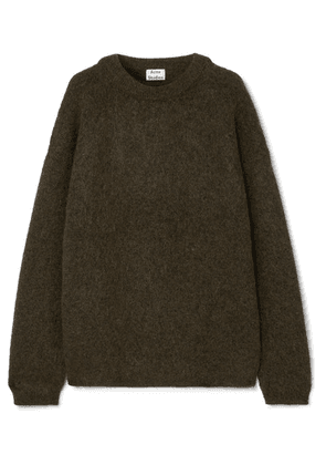 Acne Studios - Oversized Knitted Sweater - Army green