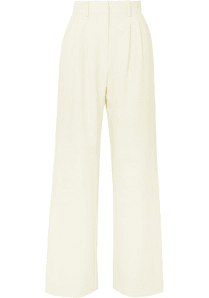 A.W.A.K.E. MODE - Artemon Crepe Wide-leg Pants - Cream