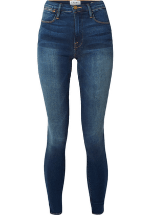 FRAME - Le High Skinny Jeans - Dark denim