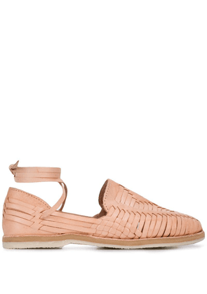 Brother Vellies lace-up Huaraches - Pink