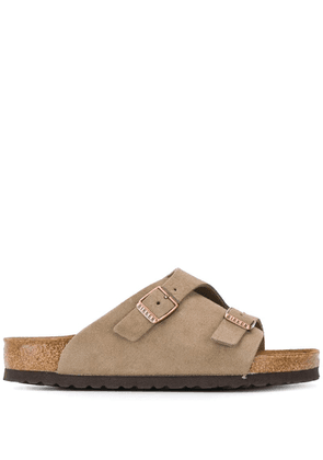 Birkenstock double buckle sandals - Neutrals