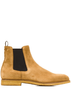 Car Shoe contrast Chelsea boots - Brown