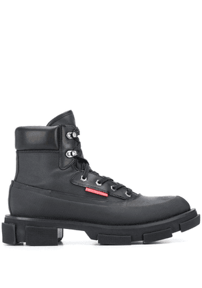 Both Gao lace-up ankle boots - Black