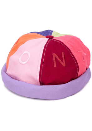 Beton Cire Miki colour-block hat - Multicolour