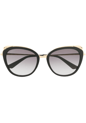 Cartier oversized sunglasses - Black