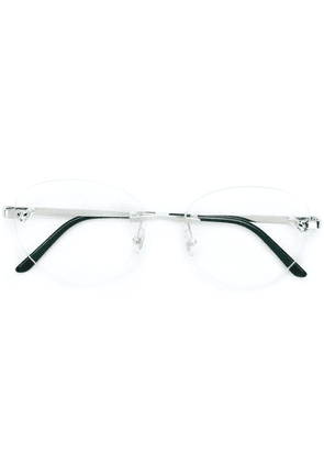 Cartier C Décor round glasses - White