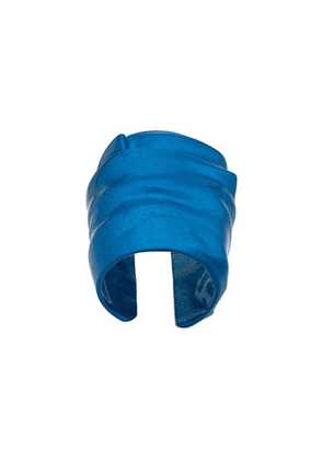 Maison Margiela sculpted oversized ring - Blue