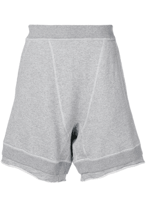 Dsquared2 wide leg shorts - Grey