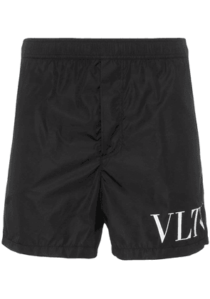Valentino VLTN logo swim shorts - Black