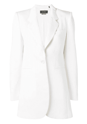 Isabel Marant classic fitted blazer - White