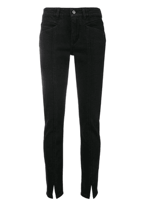 Givenchy front slit trousers - Black