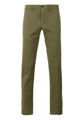 Moncler classic chino trousers - Green