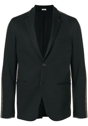 Fendi embellished fitted blazer - Black