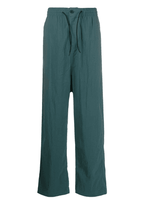 Y-3 oversized track pants - Green