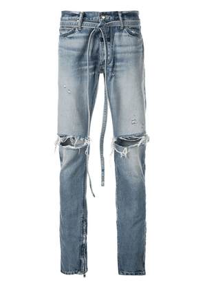 Fear Of God tie waist jeans - Blue